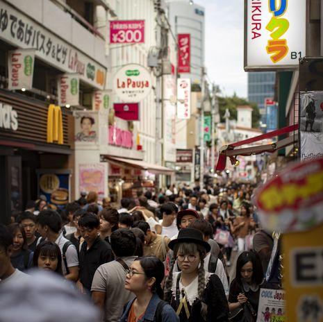 Tokyo street scene