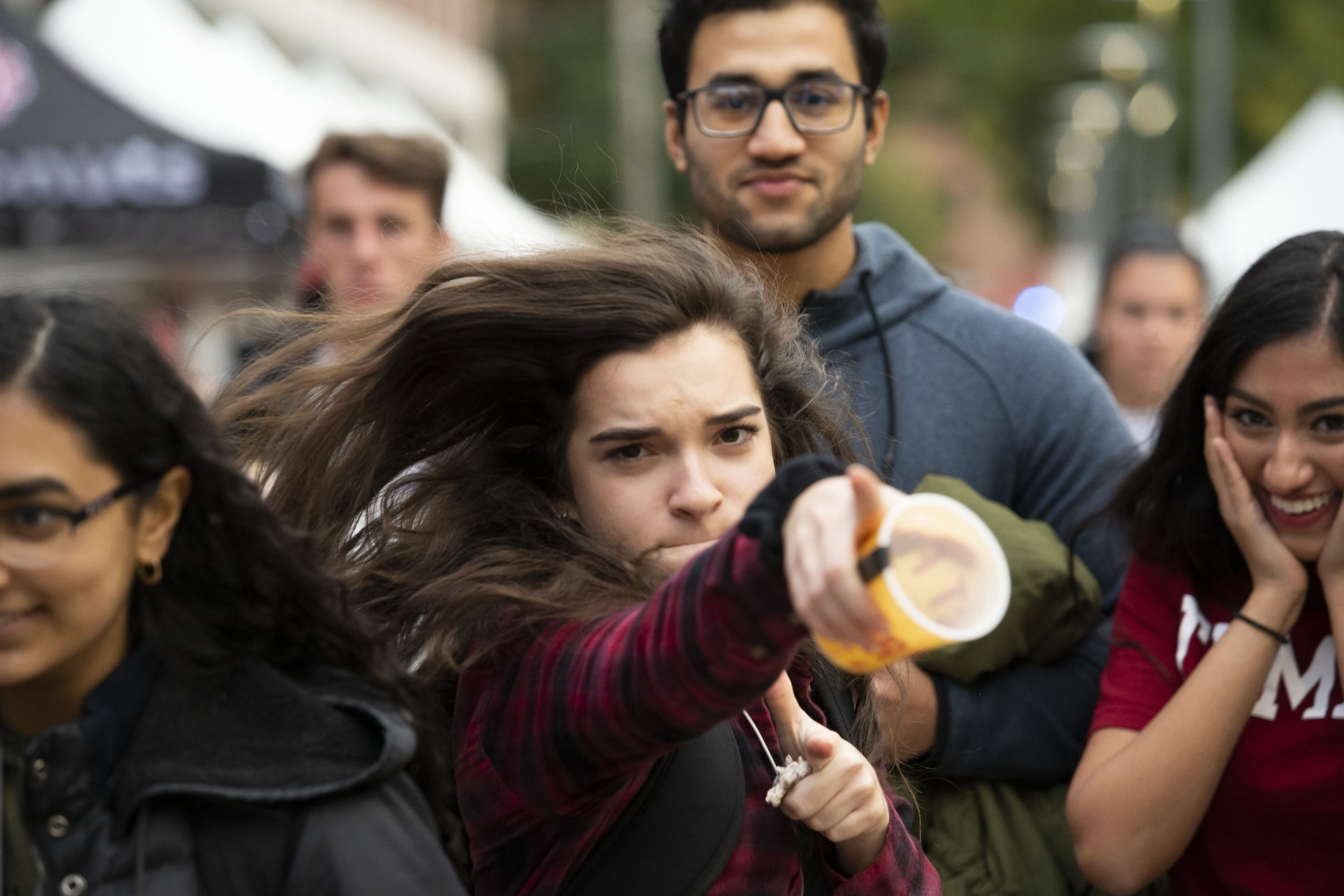 An annual celebration called Foxtoberfest on Temple's Main Campus.