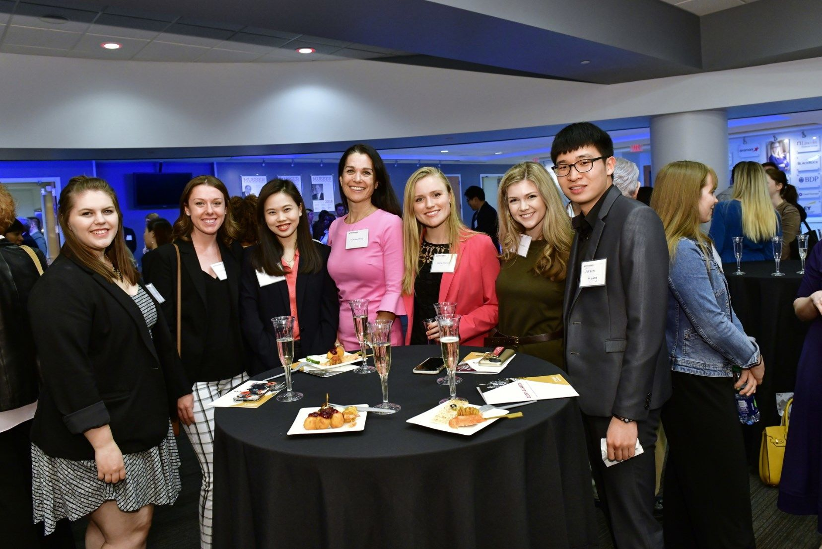 An event at the School of Sport, Tourism and Hospitality Management.
