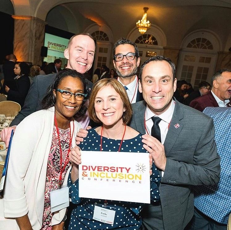 STHM faculty attend a conference promoting diversity and inclusion.
