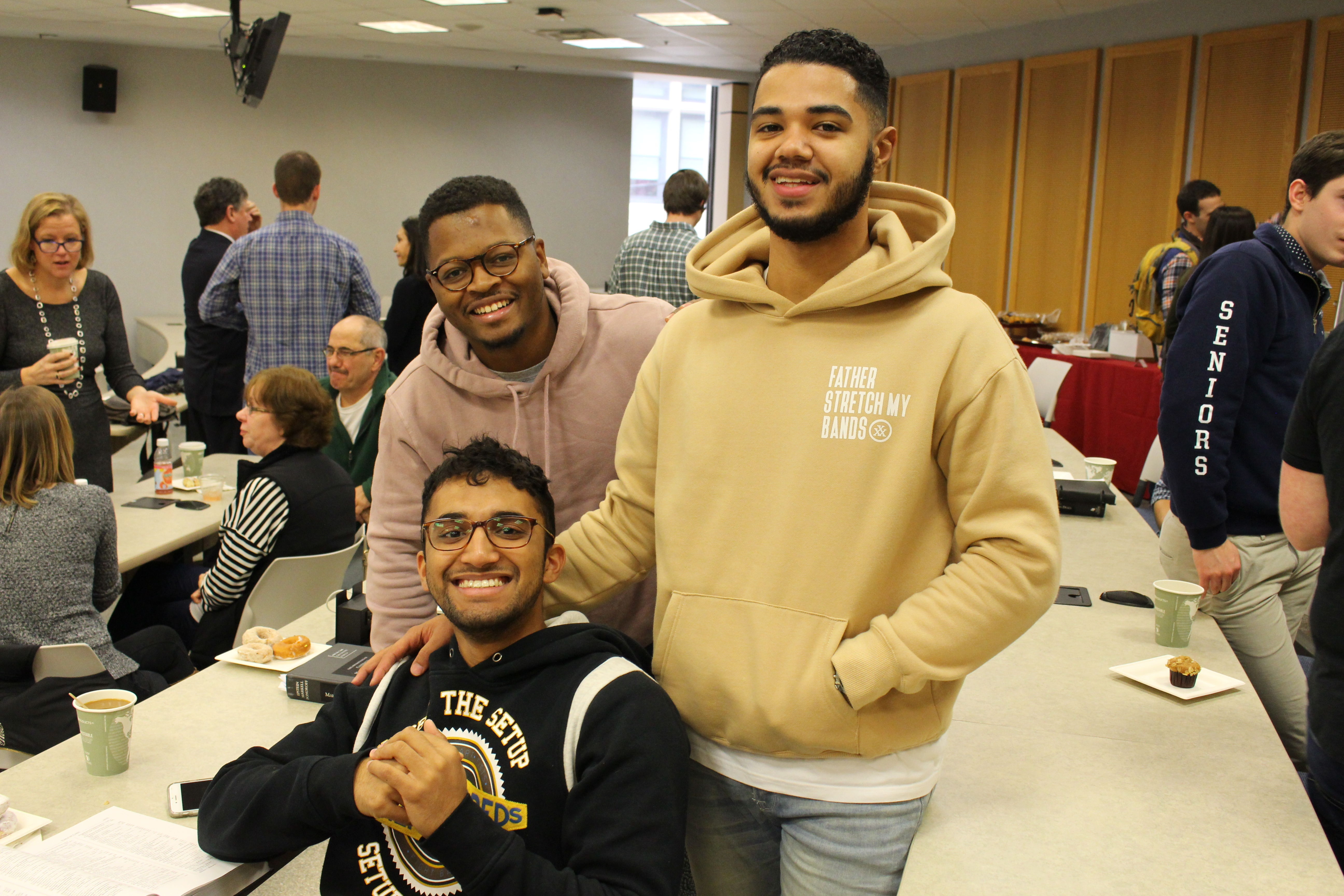 At Friends and Family Day, Temple Law day students invite those closest to them to join the Owls for breakfast and experience a law school class.