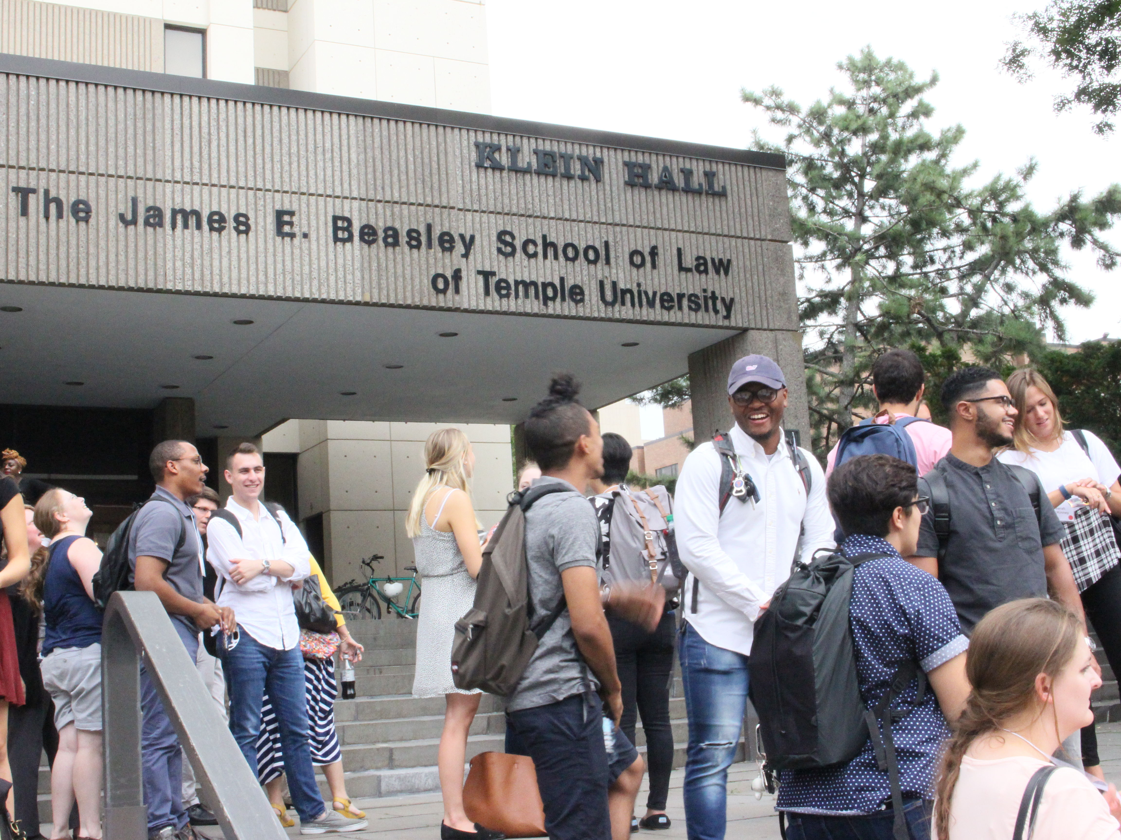 Temple Law Class of 2020 gathers for Orientation Week and the beginning of their law school education.