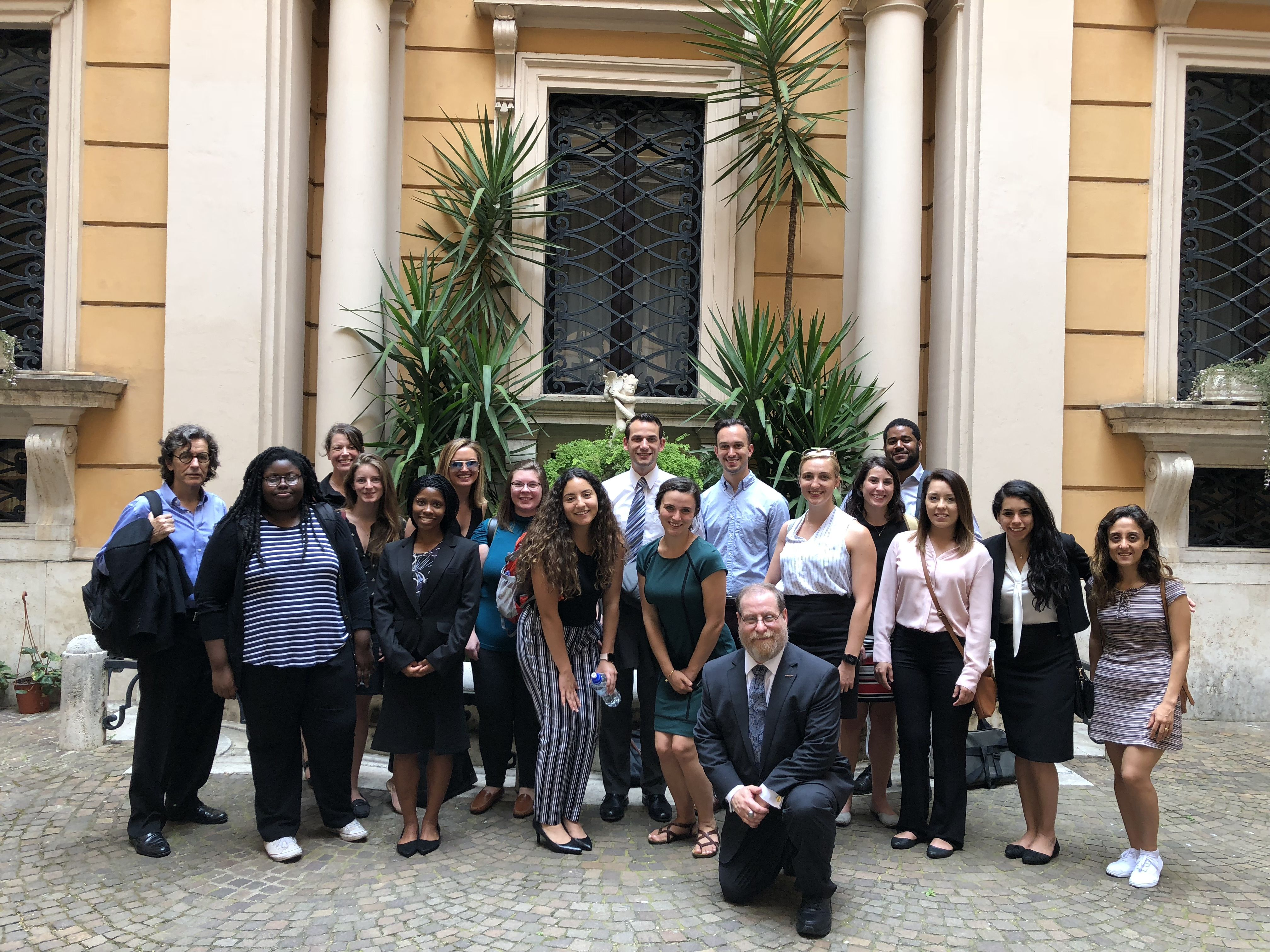 Temple Law Summer Rome Program offers students the opportunity for cultural immersion trips in Rome, Italy.