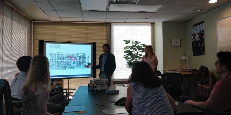 A class in Tyler's Community Development Program.